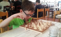 Cam playing chess